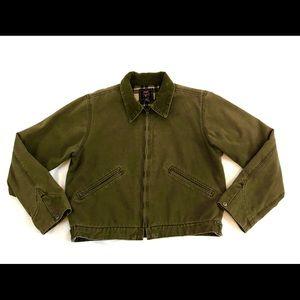 American Eagle Green Bomber Jacket